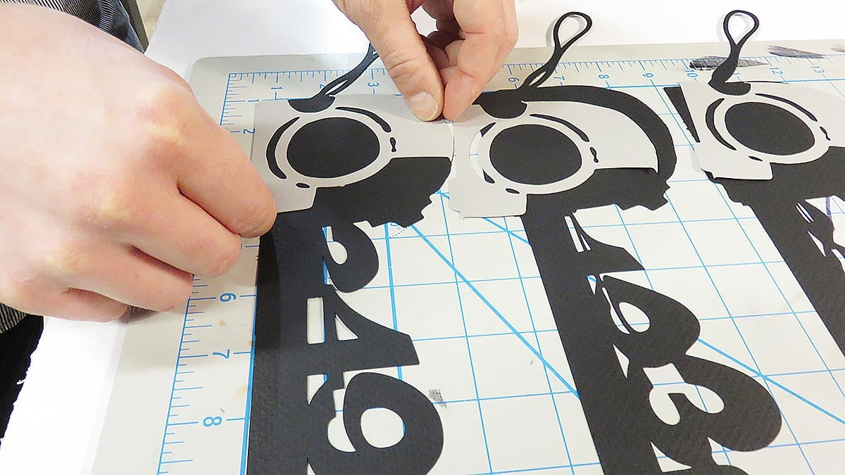 Creating paper props for the stop motion animation