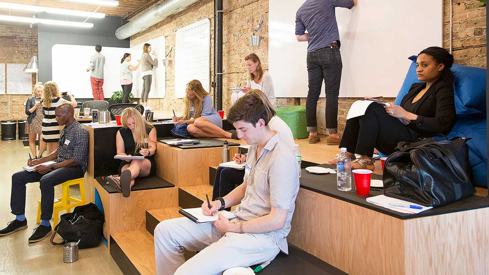 Ink Factory hosts a workshop for the Chicago Ideas co-op