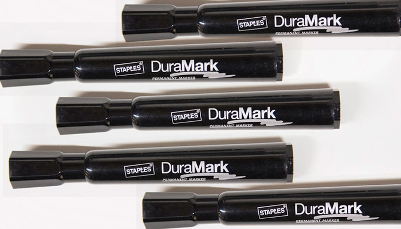We use LOTS of DuraMark brand markers for graphic recording
