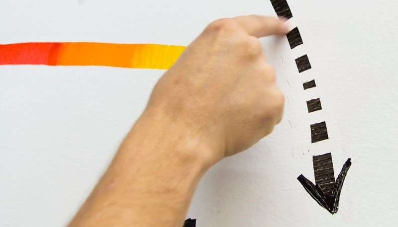 Use your finger to create details that will transform your office whiteboard ideas
