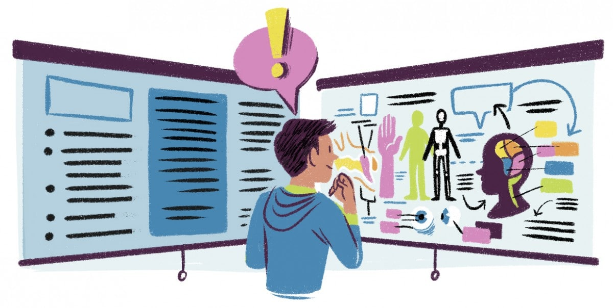 Visuals improve memory and data retention