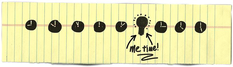 Create time for creativity