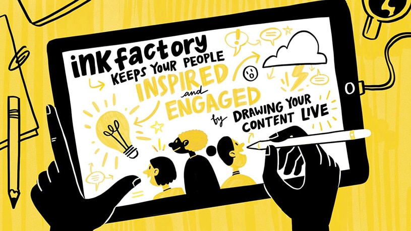 Three Ways Live Drawing Engages Your Brain During Your Virtual Event
