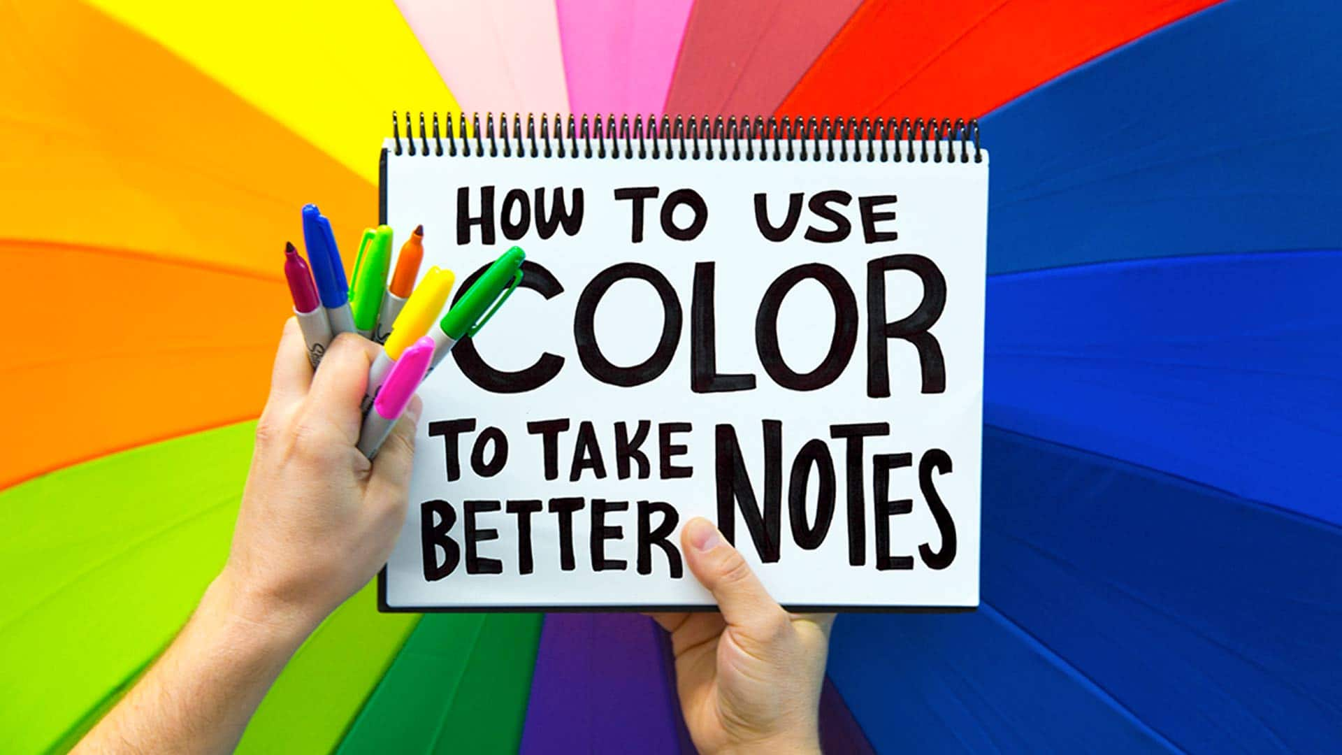 Hot to use color to take better color notes