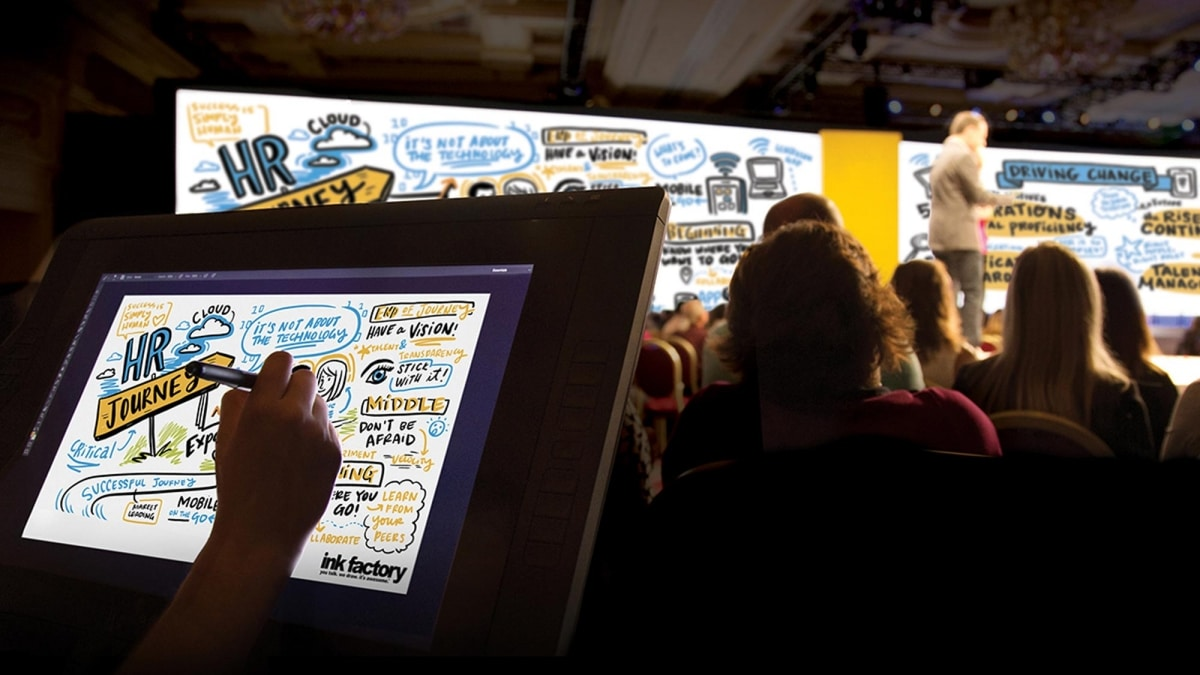 Why Hiring a Graphic Recorder for Online Meetings Is Game-Changing