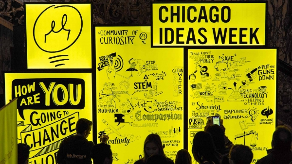 10 Fascinating Things We've Learned at Chicago Ideas