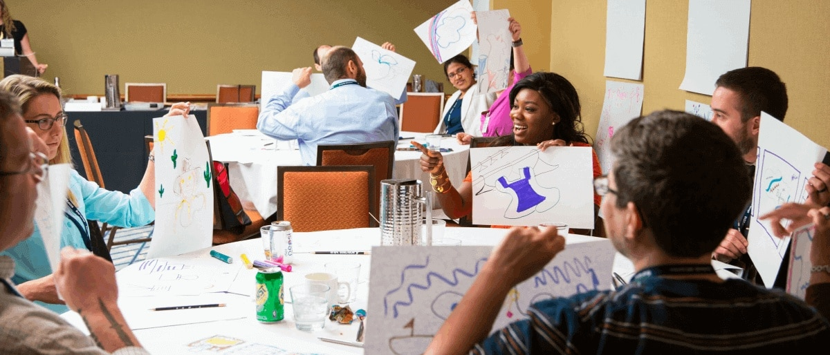 Visual Note-Taking Workshops to learn a graphic facilitation methodology