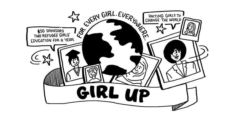 Girl Up is a global movement of empowered young women leaders who defend gender equality.