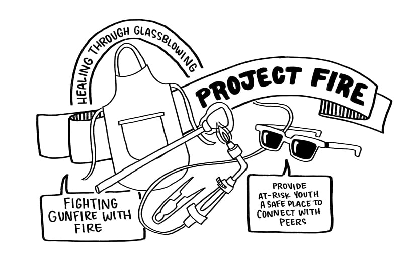 Project Fire is a local Chicago nonprofit that we are proud to support