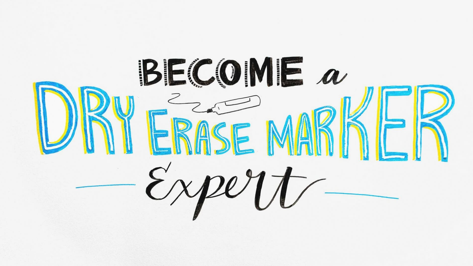 Become a Dry Erase Marker Expert title