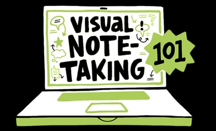 The basic course on how to take visual notes: visual note-taking 101