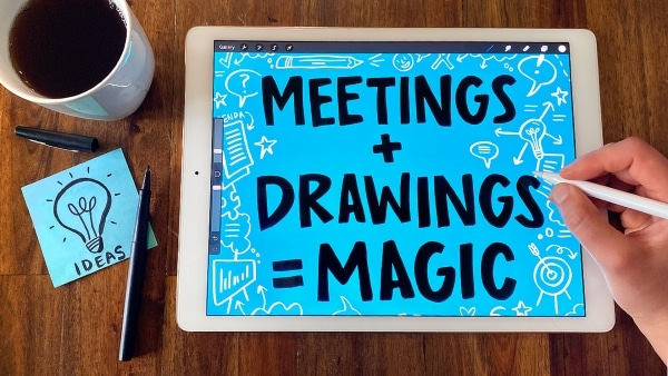 Creative Note-Taking 101: Draw Your Meetings