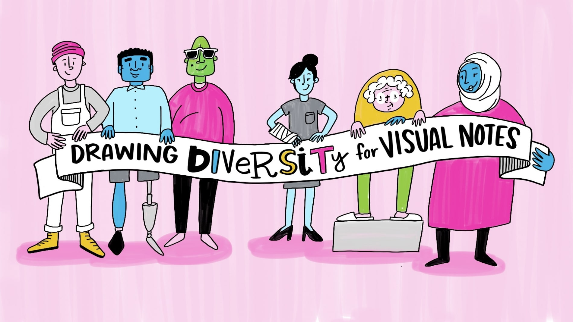How to Draw People for Visual Note-Taking