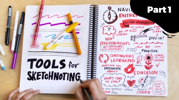 The Ultimate Guide to Tools for Sketchnoting Part 1: Black Markers