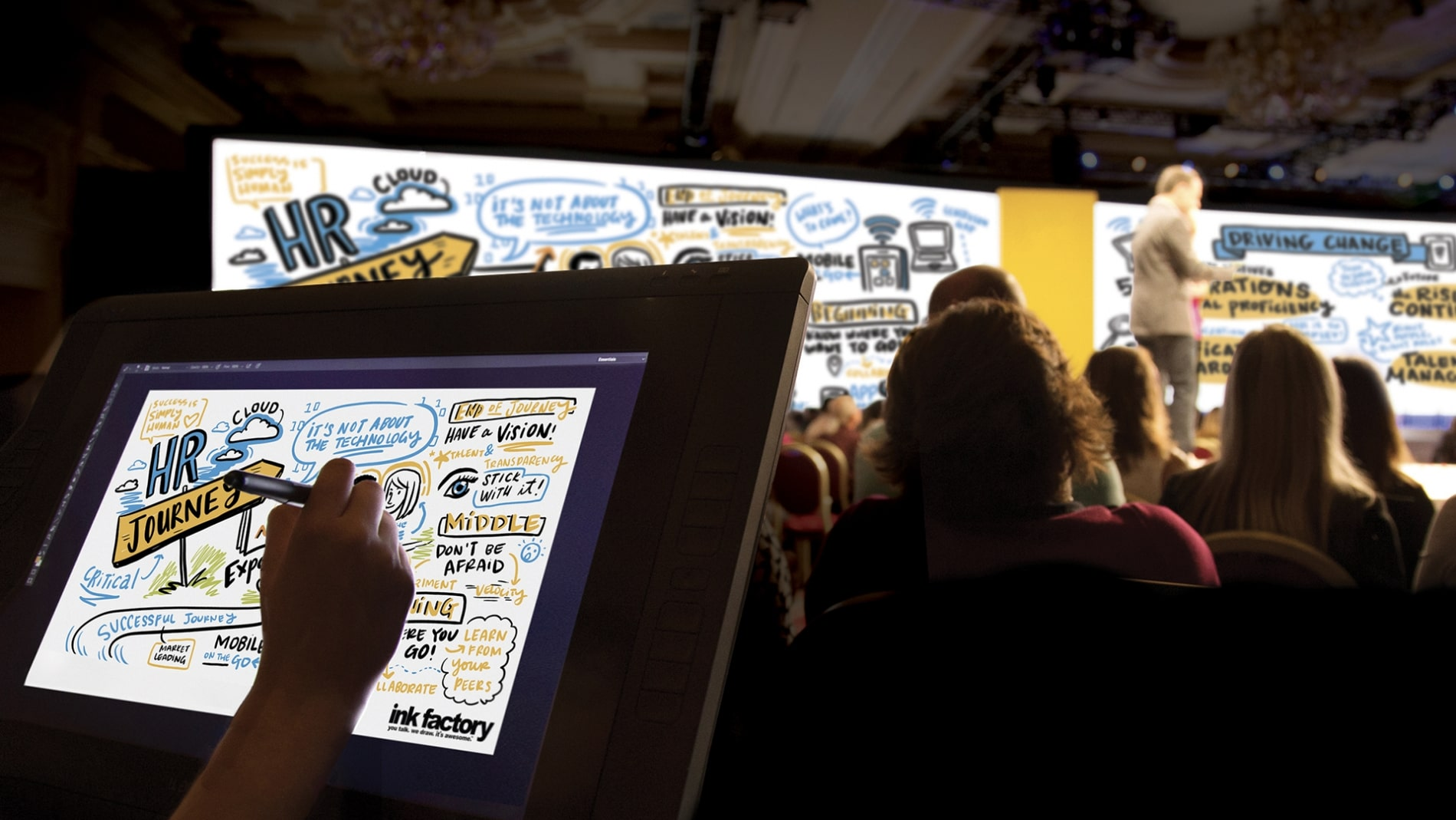 5 Visual Event Experiences to Wow Your Audience